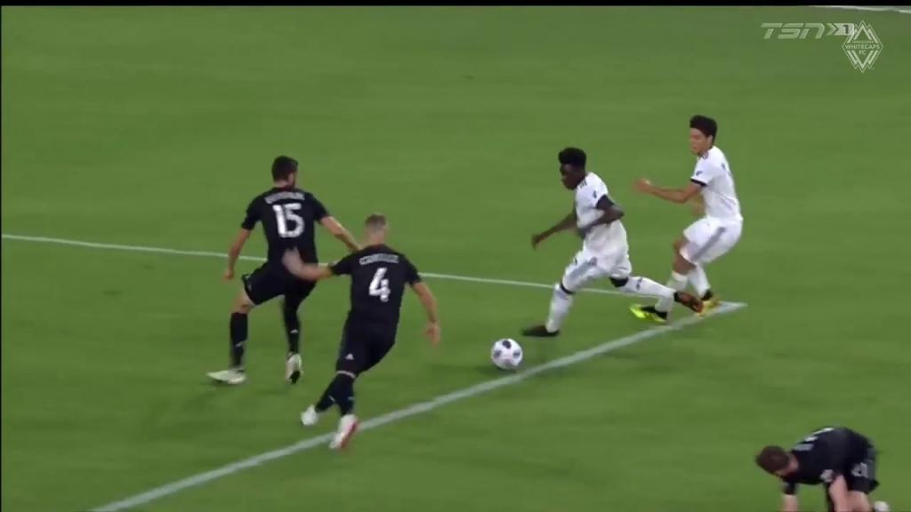 Video - Mustsee Alphonso Davies wonder goal vs DC United