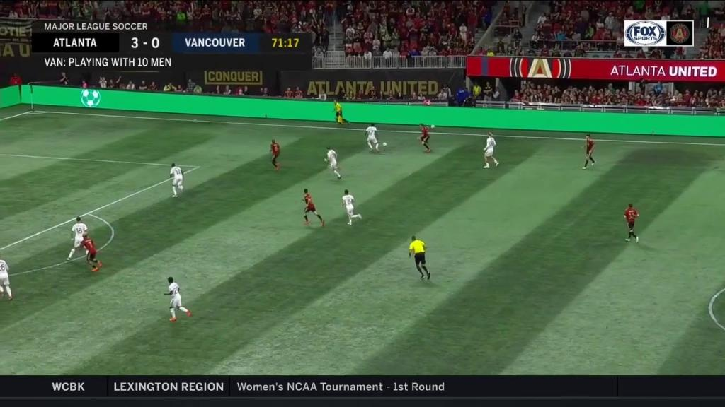 Video - Alphonso Davies remarkable dribbling display vs Atlanta