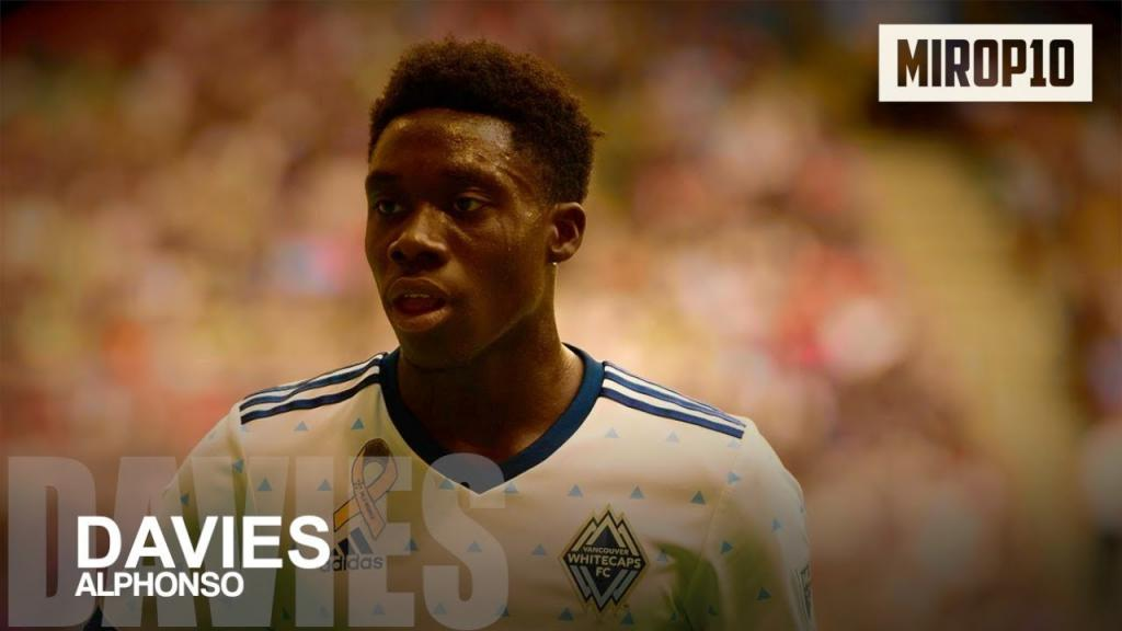 Video - ALPHONSO DAVIES VANCOUVER WHITECAPS THE CANADIAN WONDERKID Skills Goals