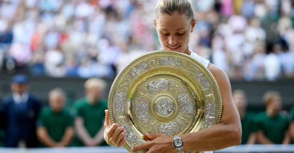 No Storybook Ending for Serena Williams Instead a Wimbledon Title for Angelique Kerber