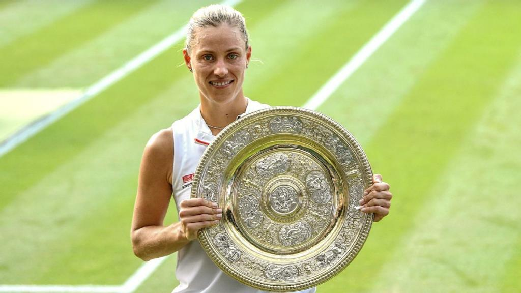 Lost amid the Serena fairytale story the Kerber fairytale story