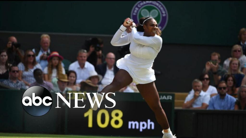 Video - Serena Williams lost to Angelique Kerber in the Wimbledon final