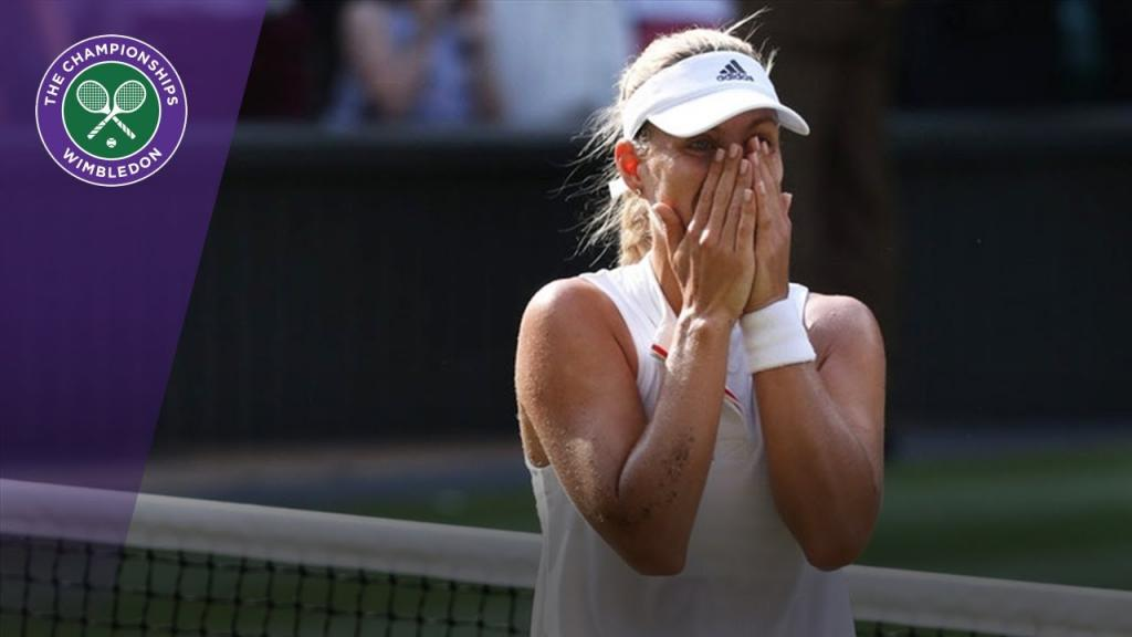 Video - Angelique Kerber Its a dream come true Wimbledon 2018