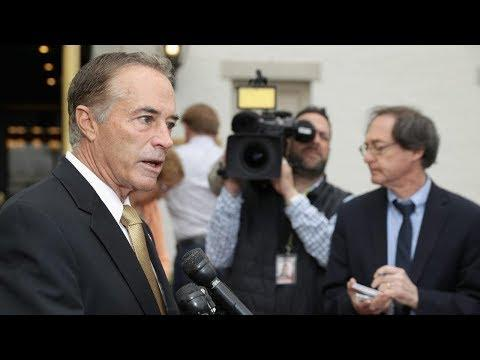 Video - Watch Live New York Rep Chris Collins speaks after charged with insider trading