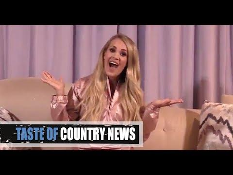 Video - Carrie Underwoods Pregnancy Reveal Is Super Cheeky