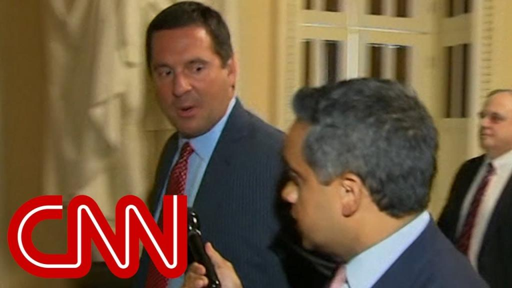 Video - Devin Nunes attacks CNN when asked about FISA docs
