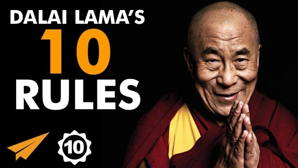 Video - Dalai Lamas Top 10 Rules For Success DalaiLama