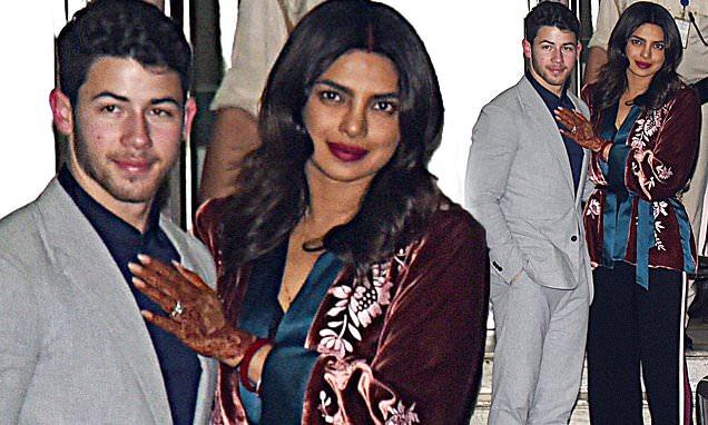Priyanka Chopra arrives with Nick Jonas in Mumbai