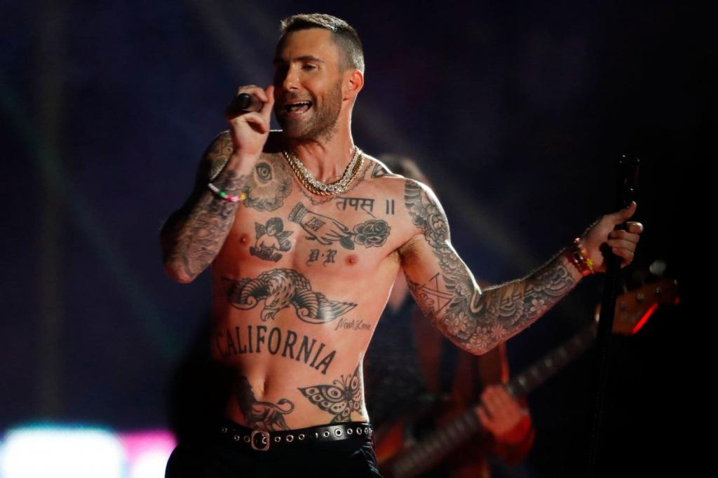Maroon 5 Super Bowl halftime show 5 important questions from SpongeBob to shirtless Adam Levine
