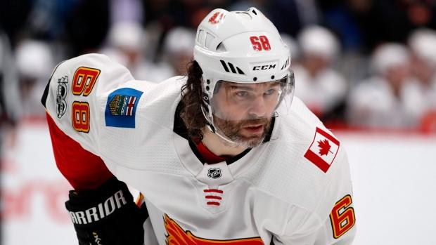 Flames to place Jaromir Jagr on waivers reports CBC Sports