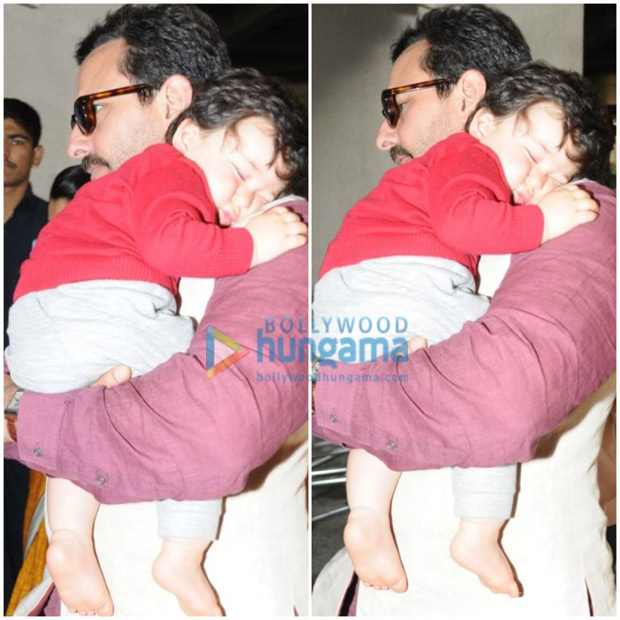 CUTE! This picture of Taimur sleeping peacefully will fill your heart with warmth