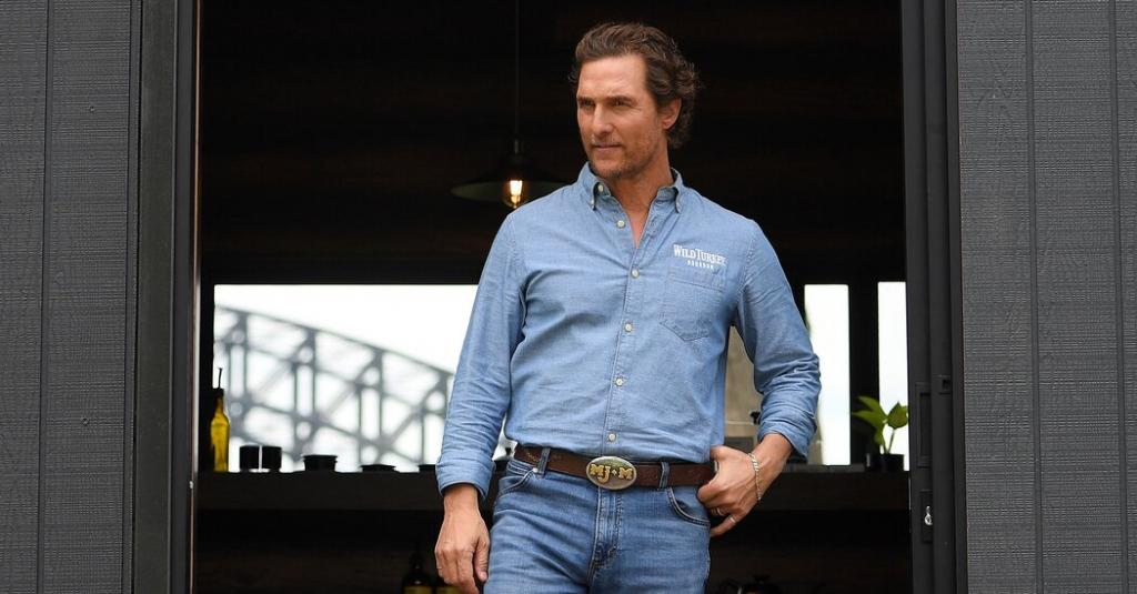 Matthew McConaughey governor of Texas Voters seem all right with the idea a poll found