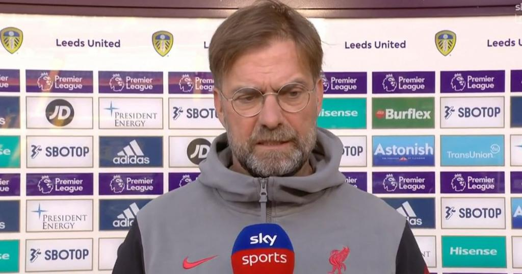 Jurgen Klopp breaks silence on Liverpool joining European Super League