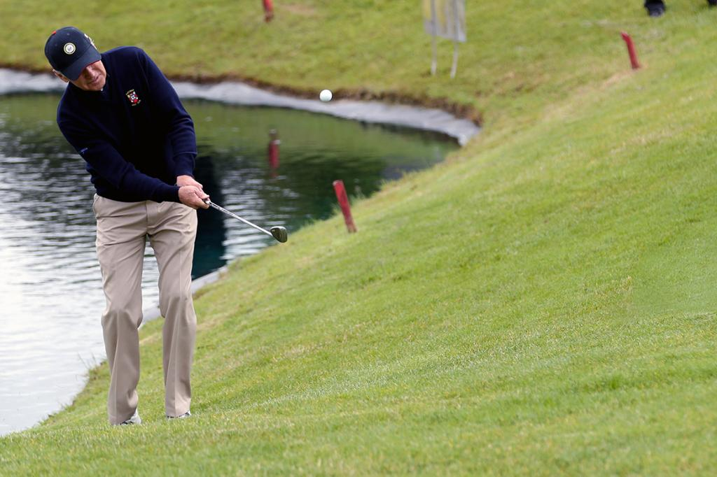 Biden plays first round of golf as president