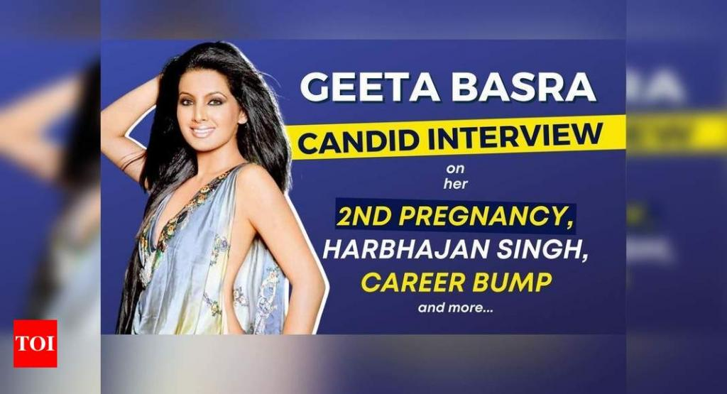 Exclusive Geeta Basra on her 2nd pregnancy Harbhajan Singh career bump Producers feared I would soon marry Times of India
