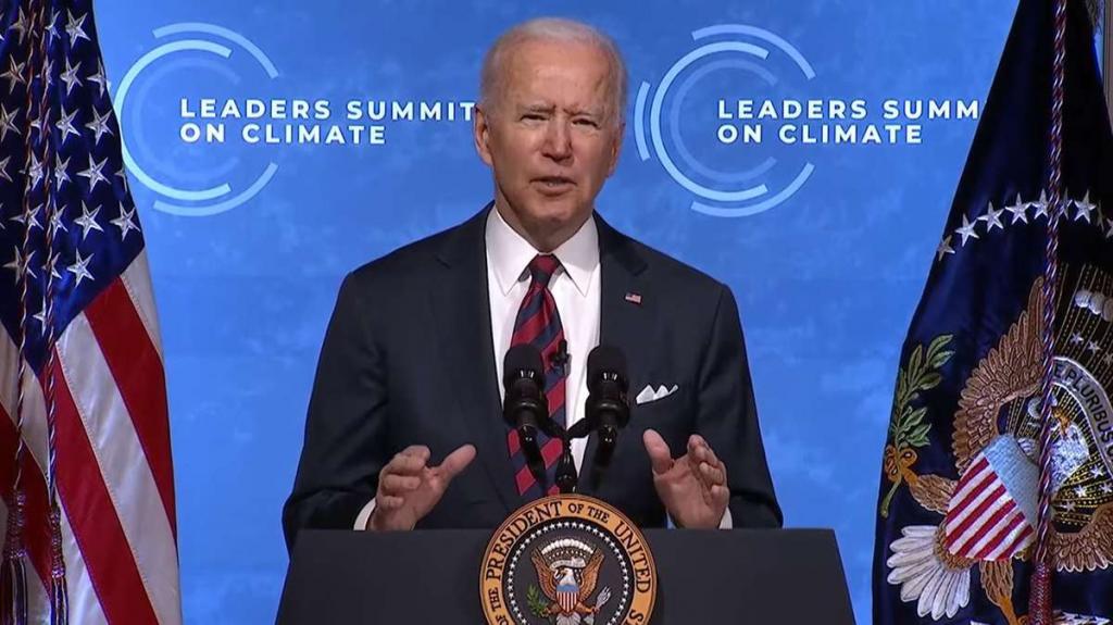 Joe Bidens leaders summit on climate change live updates