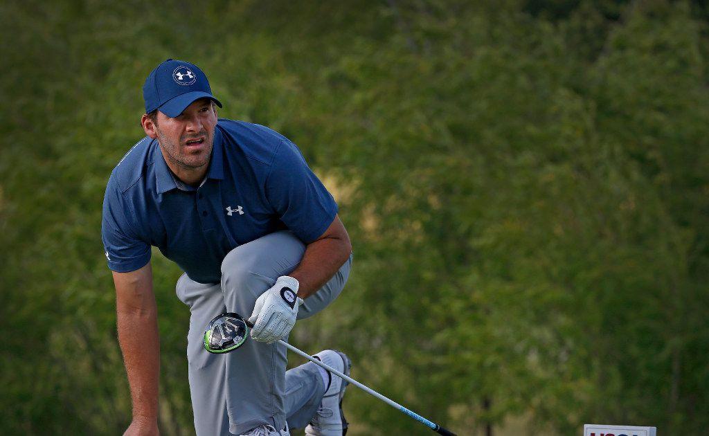Tony Romo makes return to professional golf this week at Veritex Bank Championship in Arlington