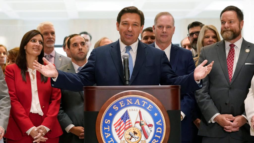 Florida Gov DeSantis invalidates COVID19 restrictions statewide says theres no need to be policing people at this point