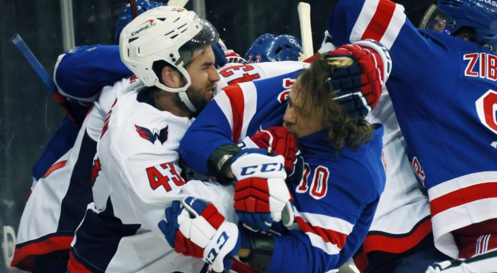 Rangers analyst calls Capitals Tom Wilson a complete bully
