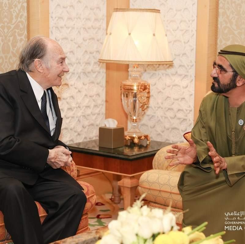 Sheikh Mohammed meets Aga Khan in Dubai