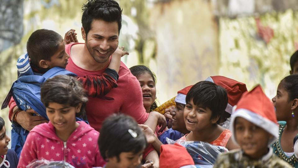 Why just Christmas the whole idea of life should be to spread happiness Varun Dhawan