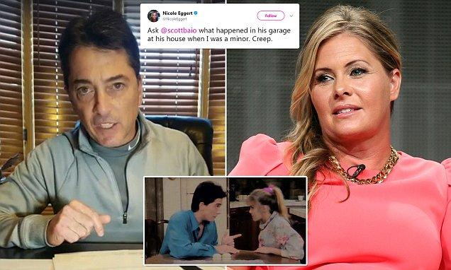 Scott Baio responds to Nicole Eggerts assault allegations