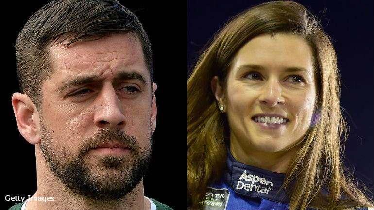 New romance? Gossip blogger claims Packers QB Aaron Rodgers is dating race car driver Danica Patrick