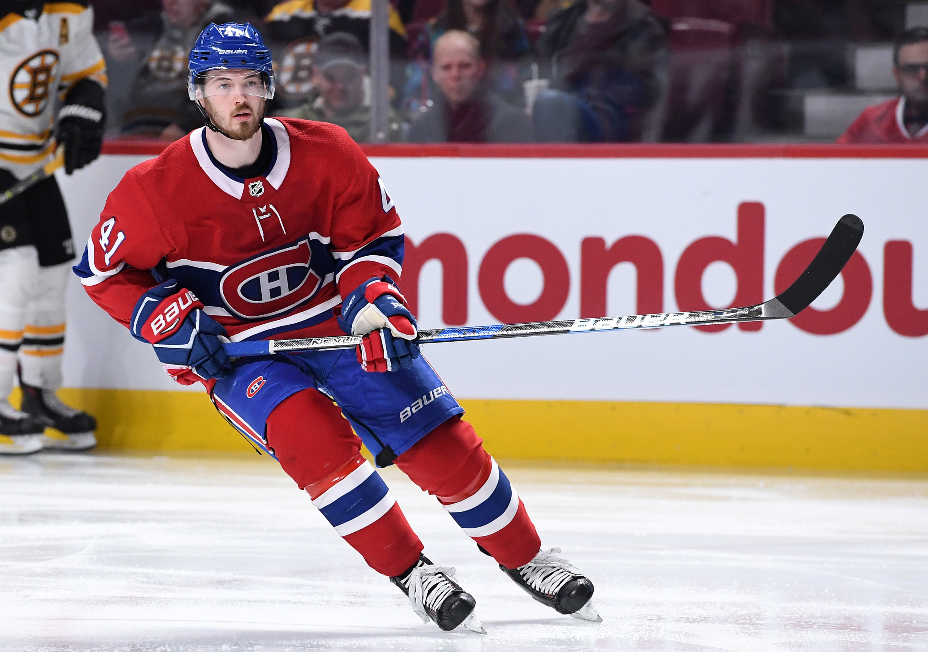 Montreal Canadiens Paul Byron absent from practice