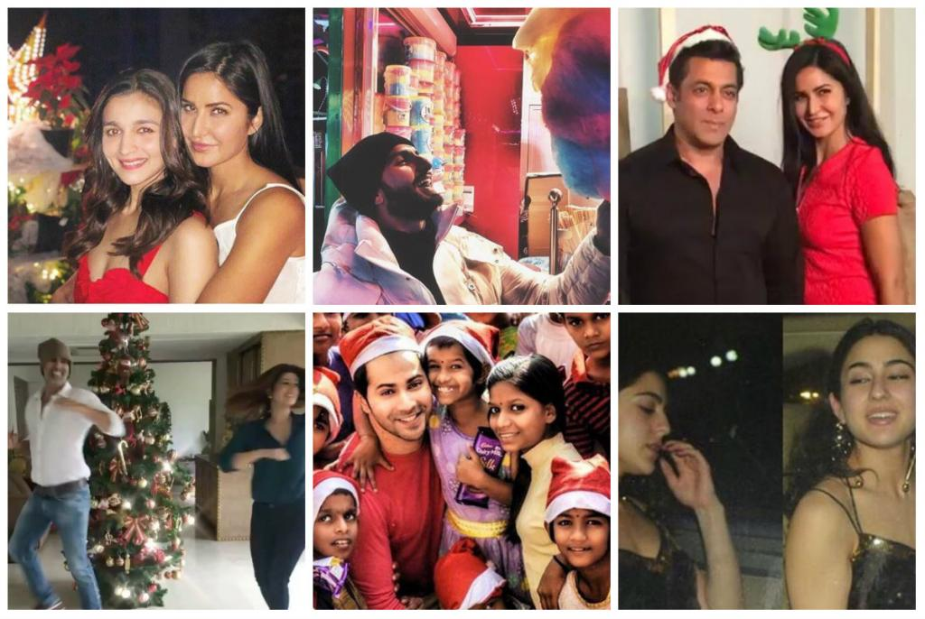 Christmas 2017 Katrina Kaif Alia Bhatt Varun Dhawan and Ranveer Singh celebrate with a bang PHOTOS VIDEOS