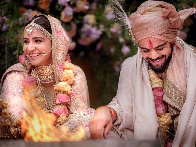 It's official: Anushka Sharma and Virat Kohli are married - The Express Tribune