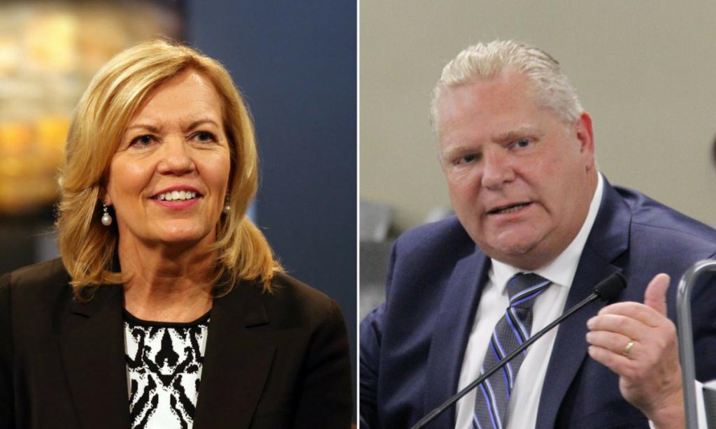 Christine Elliott and Doug Ford favourites to replace Brown poll shows Toronto Star