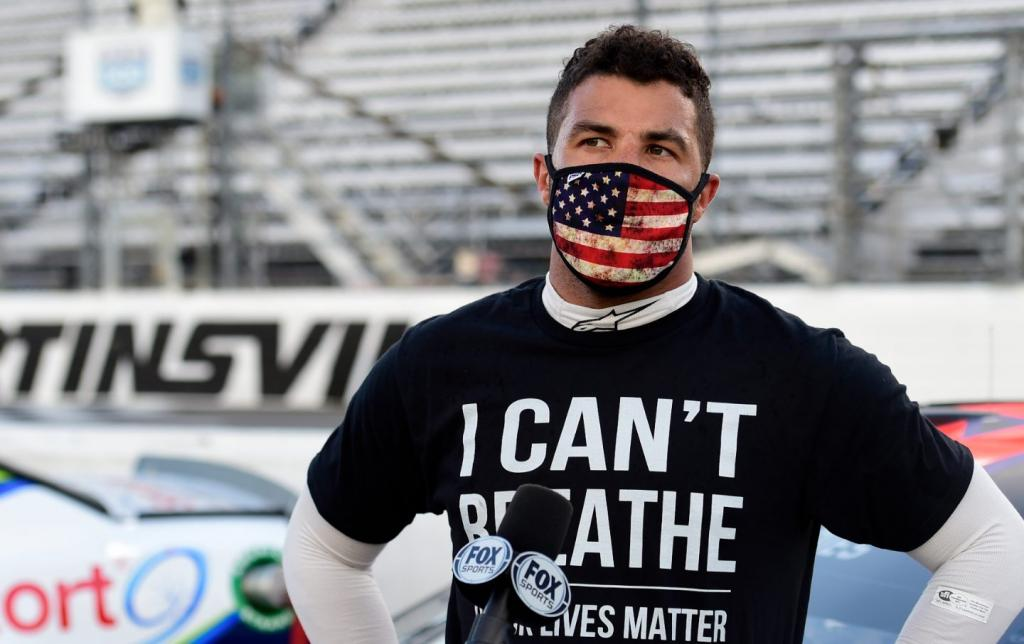 Bubba Wallace, NASCAR's Only Black Driver, Is Threatened With a Noose