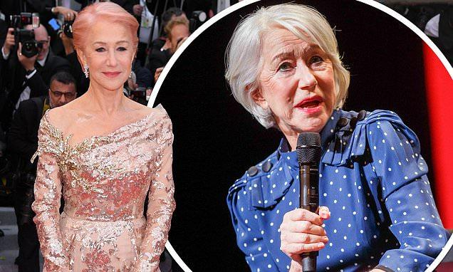 Dame Helen Mirren says a man once flashed at her when she was aged 13
