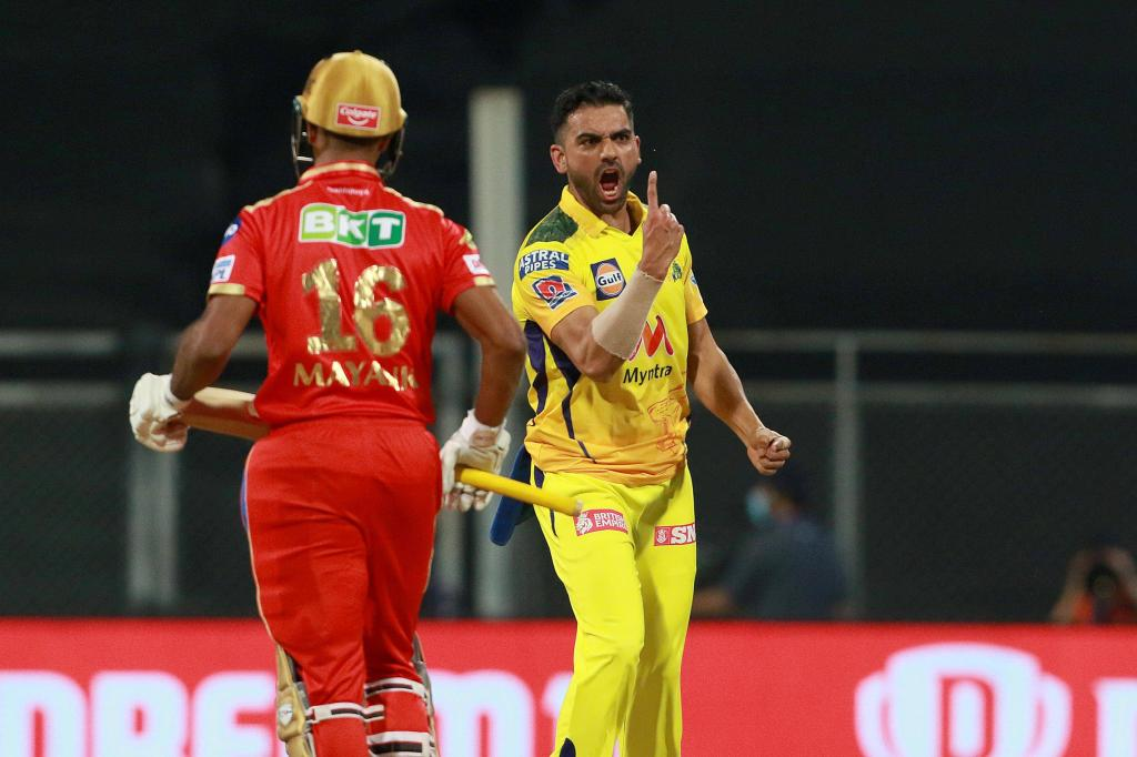 IPL 2021: Deepak Chahar leaves Punjab Kings in deep trouble