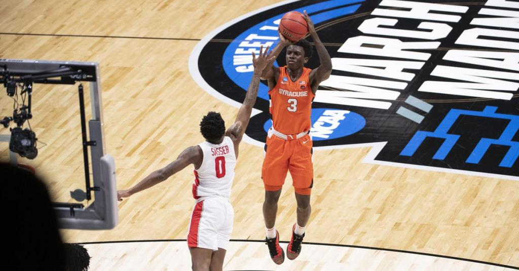 Jim Boeheim on Kadary Richmond:    He was never restricted here on the court in anything except three point shooting