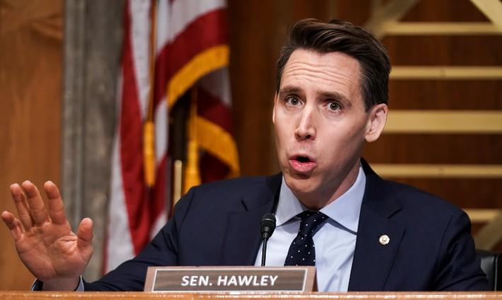 Josh Hawley  's On-Brand For Hate-Crime Bill Vote, No One  's Surprised