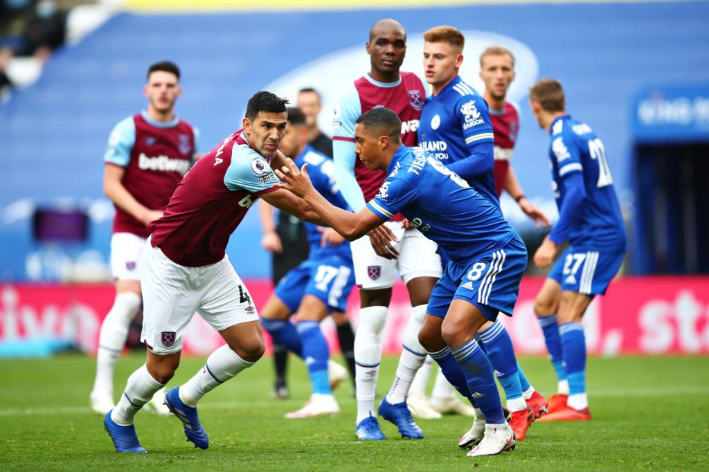 Leicester City and West Ham clash as race for European spots heats up