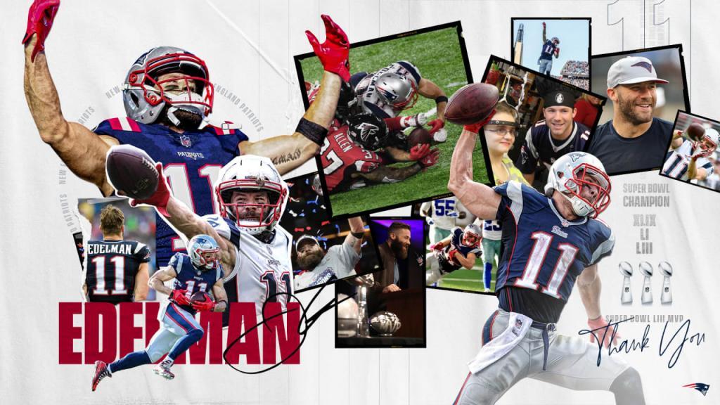 Patriots WR Julian Edelman Announced His Retirement