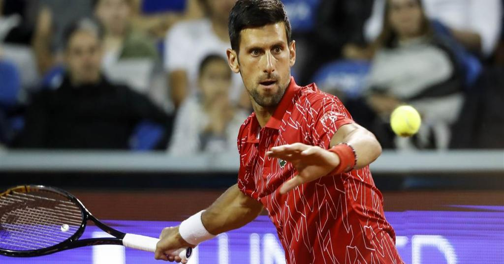 Top-ranked tennis star Novak Djokovic tests positive for the coronavirus