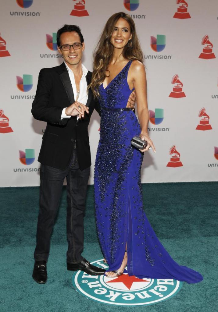 Marc Anthony, Shannon De Lima Were Gorgeous At Latin Grammy Awards