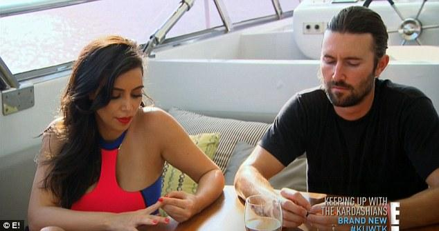 Kim Kardashian apparently has charmed her stepbrothers Brandon and