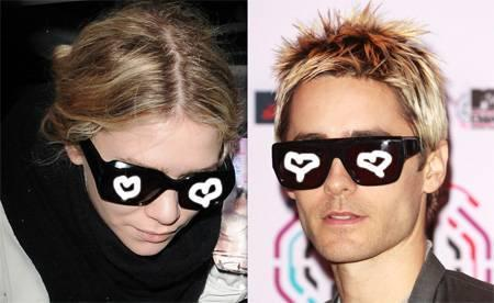 Ashley Olsen seems to favor the skinny, pale look in her men as not