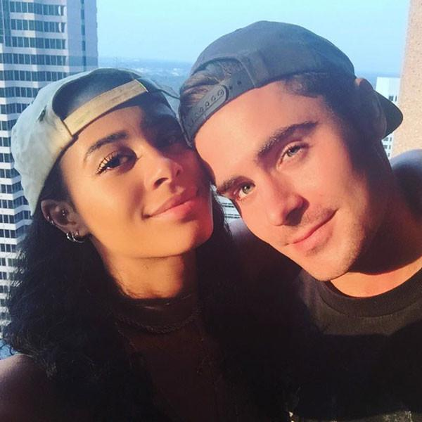 Zac Efron and Sami Miro hd images
