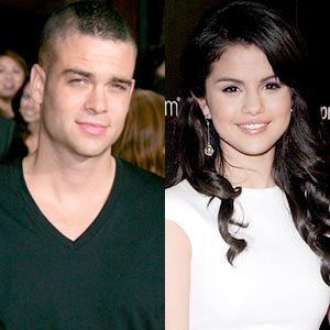 Selena Gomez and Mark Salling photos
