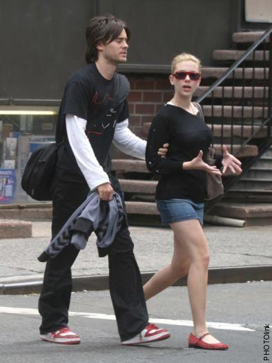 Title: jared leto and scarlett johansson image