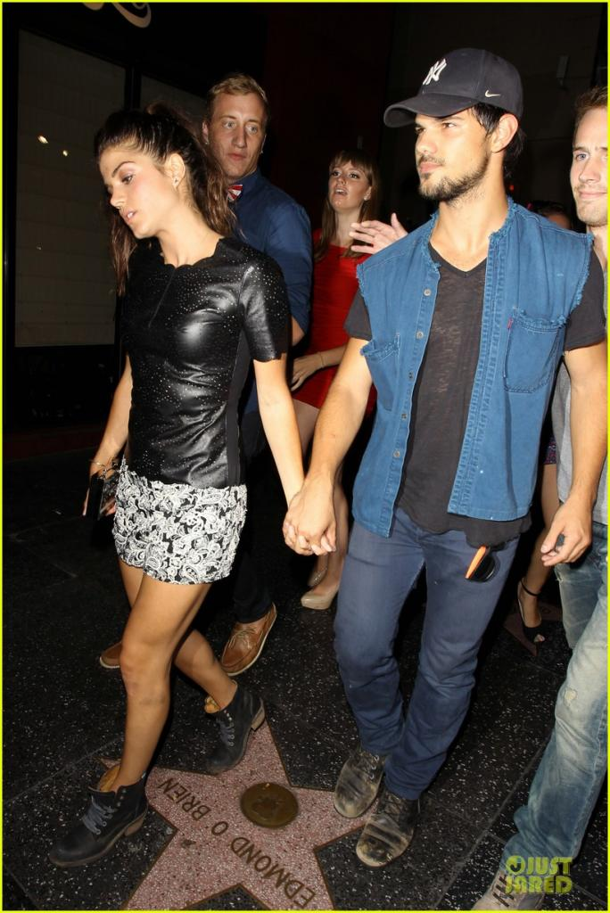taylor lautner marie avgeropoulos Photos