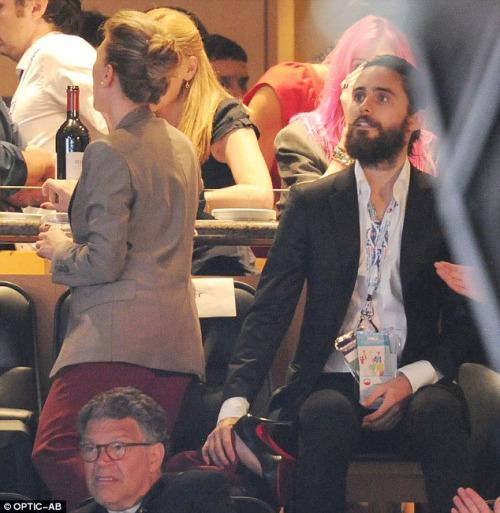 Jared Leto and Scarlett Johansson Photos