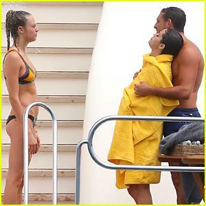 Selena Gomez Cozies Up to Tommaso Chiabra in Saint-Tropez