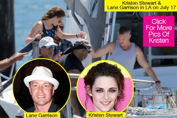 Kristen Stewart Holds Hand & Gets Close With Sexy Co-Star