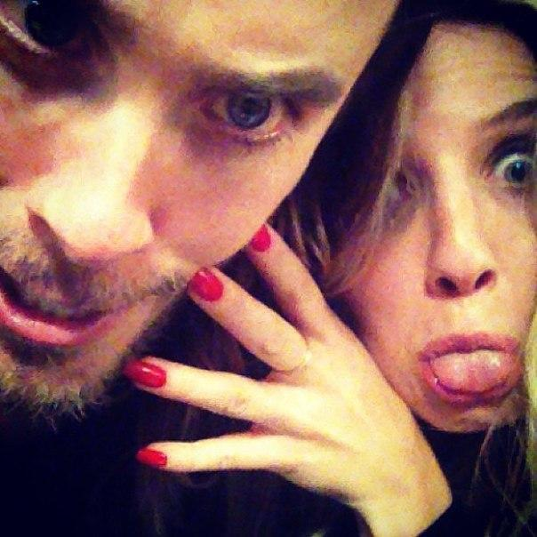 Jared Leto and Annabelle Wallis Photos